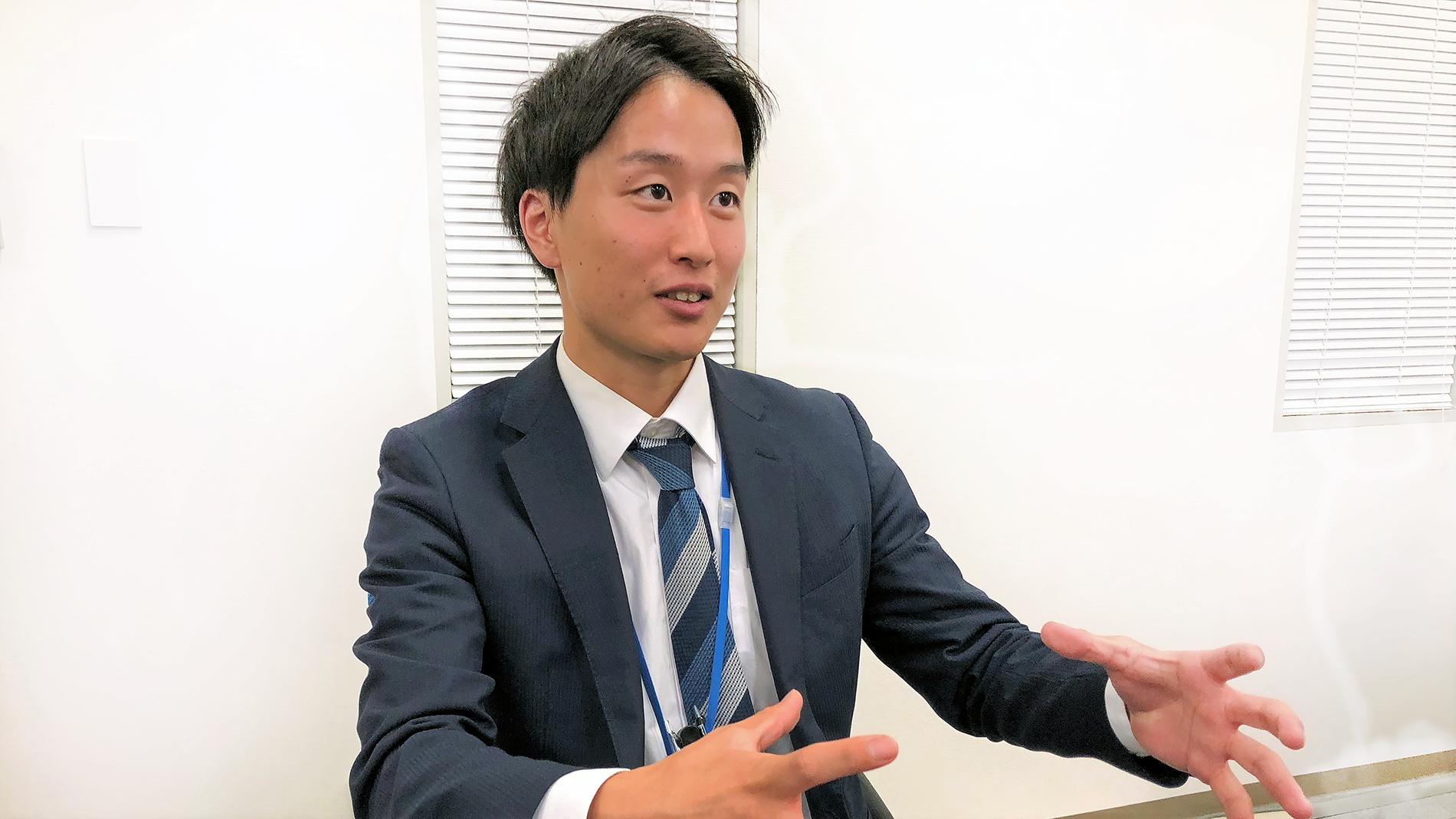 いま注目の18新卒メンバーにインタビューしてきました!大阪第二センター_立命館大学卒_水谷光憲