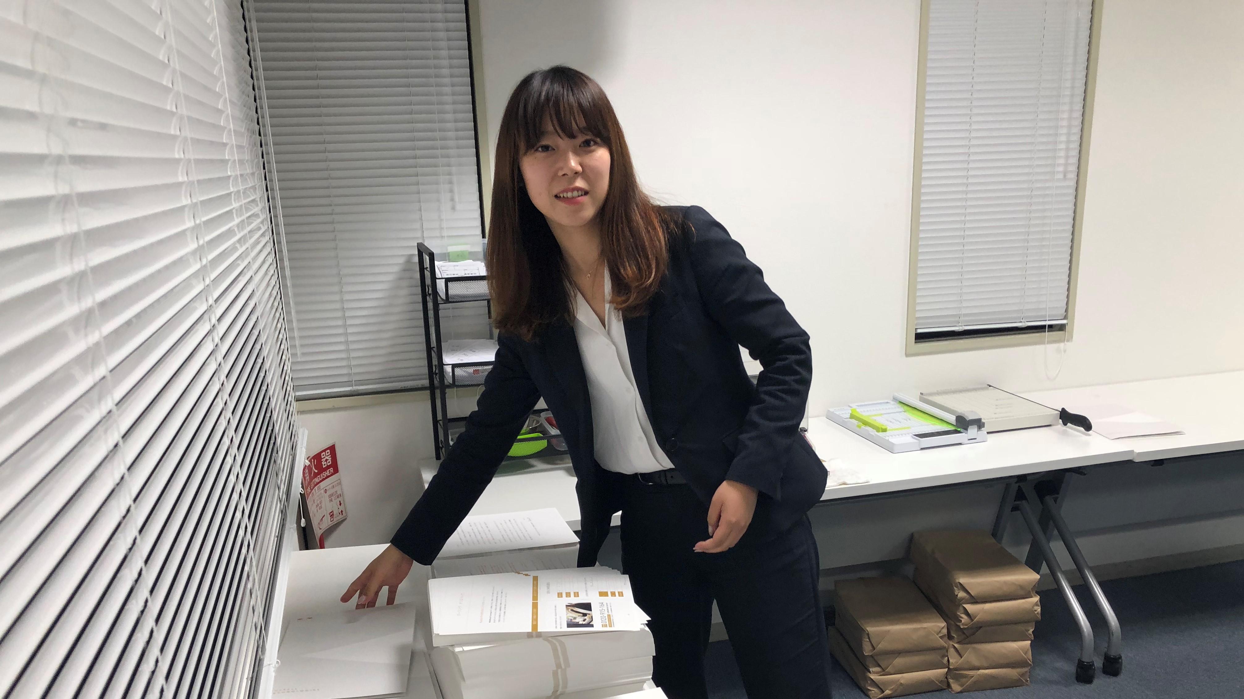 いま注目の18新卒メンバーにインタビューしてきました!大阪第一センター_関西学院大学卒_物部奈生